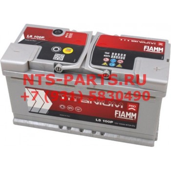 l590p Аккумуляторная батарея  Х244 TITANIUM PRO L590P 90А/ч-12Vст EN800 европейская обратная 353x175x1 Fiamm