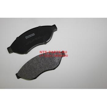001091BSX Колодки тормозные передние Х250 R15 Stellox