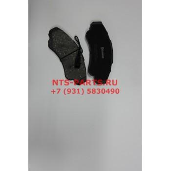 970001BSX Колодки тормозные передние Х244 R16 Stellox