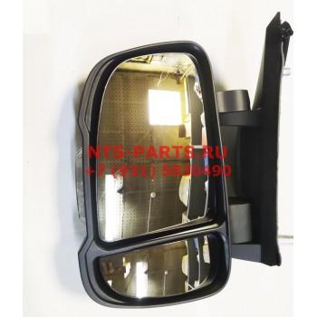 9225922 Зеркало заднего вида левое электрическое Х250 короткий кронштейн Alkar