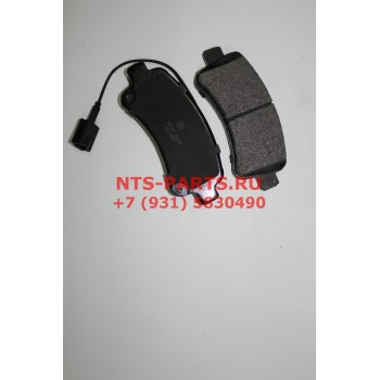 FDP9265 Колодки тормозные задние Х250 Р16 Patron