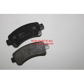 158802 Колодки тормозные задние х250 Р16 Remsa