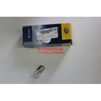 8ga002073121 Лампа одноконтактная без смещения P21W, 12 V, BA 15 s Hella